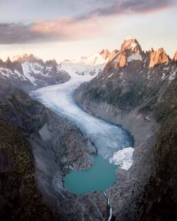 Rhone Glacier, Switzerland