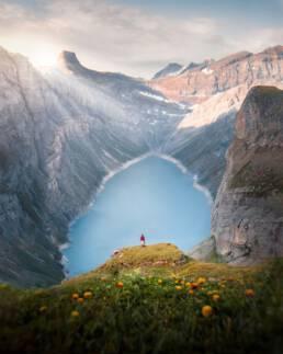 Limmerensee, Switzerland