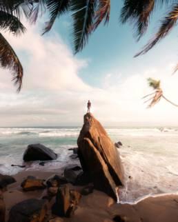 Dalawella Beach, Sri Lanka